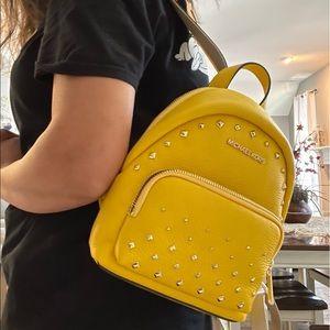 New 🍁 Mk mini backpack / gold studd